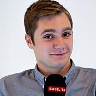 Kevin Vogel Moderator bei Radio Basilisk